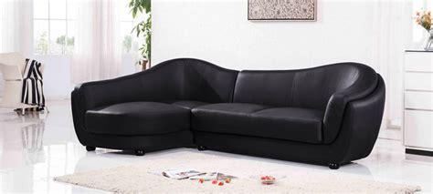 canape angle cuir noir canapé d 39 angle gauche cuir noir colorado
