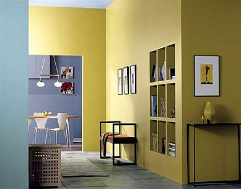 interior wall paint colors  yellow interior paint