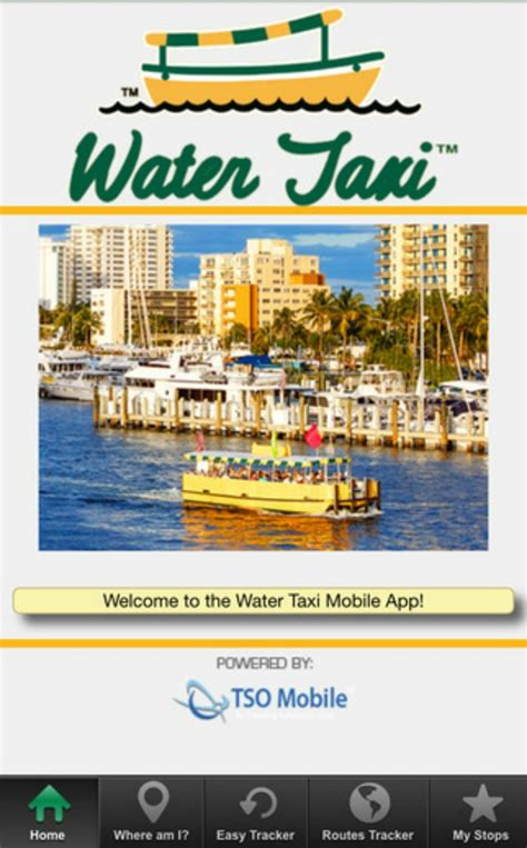 Taxi Boat Fort Lauderdale by Fort Lauderdale Water Taxi Launches New Mobile App