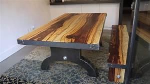 Table Bois Exotique : design ~ Farleysfitness.com Idées de Décoration