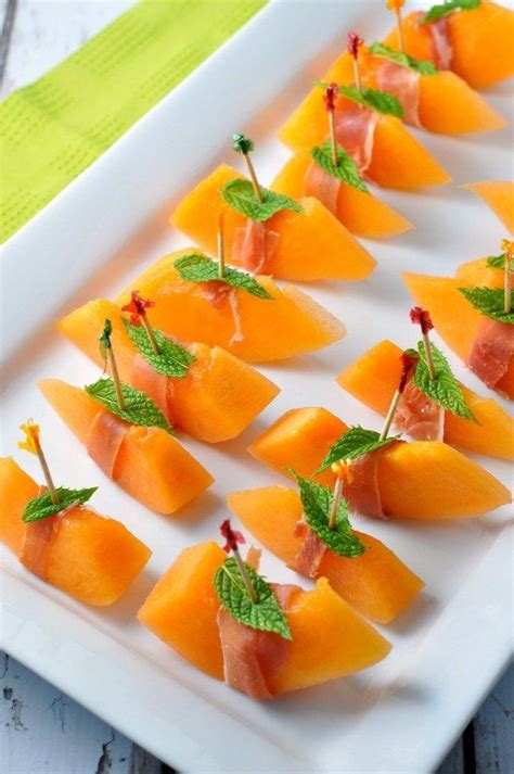 prosciutto  melon  mint recipe italian