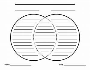 Blank Venn Diagrams With Lines For Writing