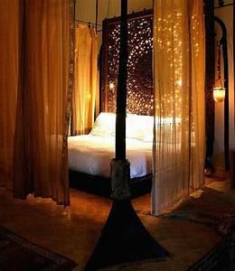 Romantische Bilder Für Schlafzimmer : romantisches bett gestalten 25 ideen ~ Michelbontemps.com Haus und Dekorationen