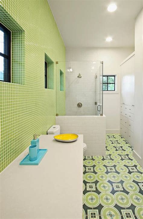 Blue And Green Bathrooms Design Ideas