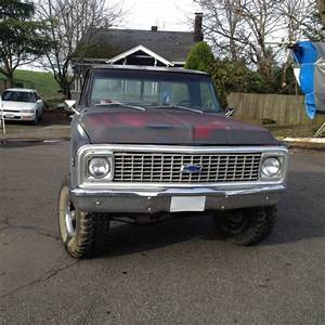 U0026 39 72 Chevy 4x4 Rare Shortbed Stepside For Sale