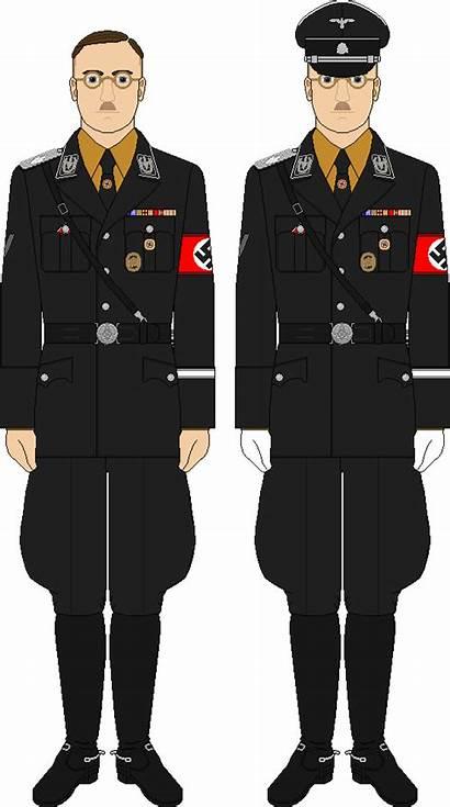 Himmler Uniform Ss Deviantart Allgemeine 1942 Sample