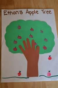 Apple Tree Handprint Craft