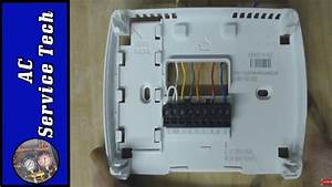 How To Bypass  Jump A Heat Pump Thermostat  6 Wiring