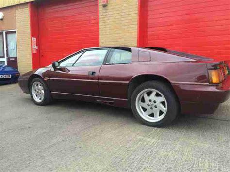 how things work cars 1989 lotus esprit parental controls lotus 1989 esprit na red car for sale
