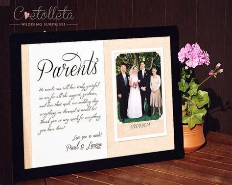 ideas  parent wedding gifts  pinterest