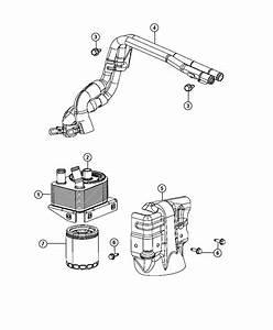 Dodge Dart Cooler  Engine Oil
