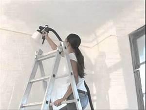 Pistolet Peinture Plafond : pistolet a peinture sur plafond ~ Premium-room.com Idées de Décoration