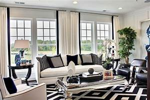 Black and white living room decoration for White and black living room