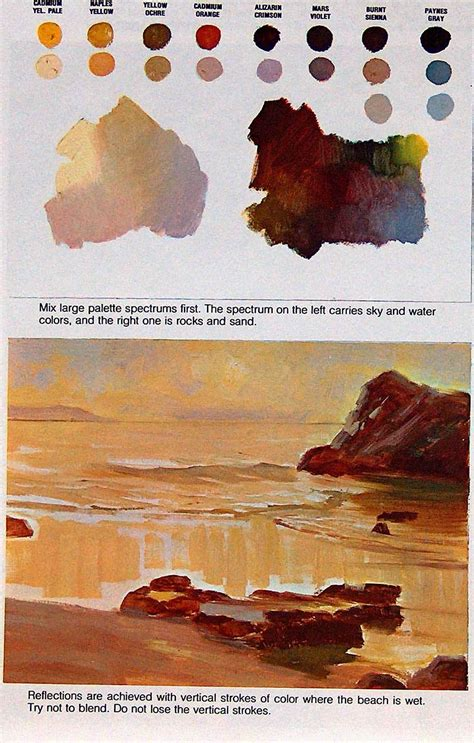 about walter foster paint seascapes joshua nava arts