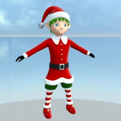 Elves Elf 3d Model