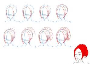 How to Draw Anime Hair Drawing