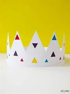 Couronne En Papier à Imprimer : couronne couleurs imprimer pr parer l 39 epiphanie avec les enfants couronne des rois ~ Melissatoandfro.com Idées de Décoration