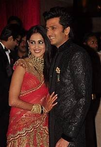 Photos : Ritesh Deshmukh and Genelia D'Souza Wedding ...