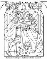 Princess Coloring Pages Detailed Medieval Drawing Renaissance Disney Sketch Royal Prince Adults Fantasy sketch template