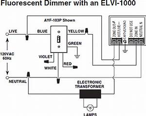 Wiring Diagram For Dimmer Switch For Fluorescent Lights