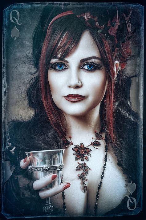 queen of spades persian beauties queens and gothic