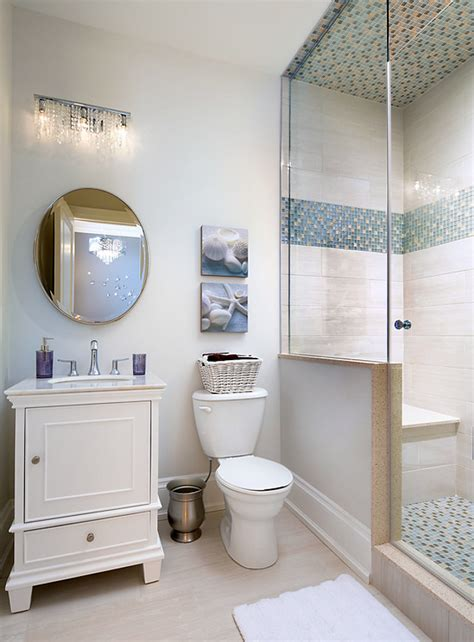 Neutral Bathroom Decor by Family Home With Sophisticated Interiors Home Bunch