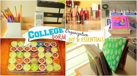 College Dorm Room Organization Ideas + Diy