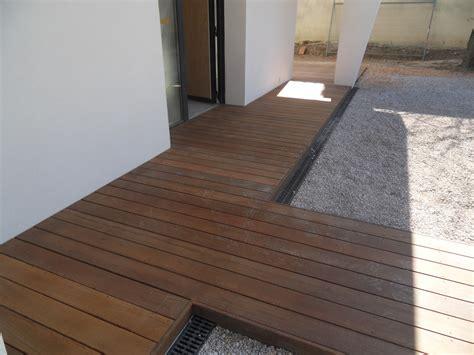 trottoirs et cheminement en bois exotique pose parquet var sppr