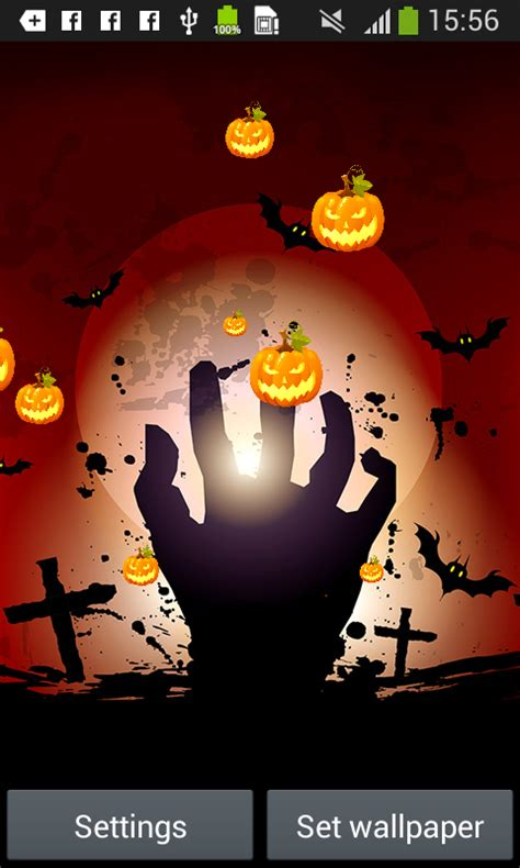 Halloween Live Wallpapers Free Free Apk Android App