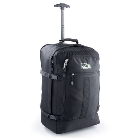 Cabin Max Cabin Max Convertible Trolley Backpack Black Iwoot