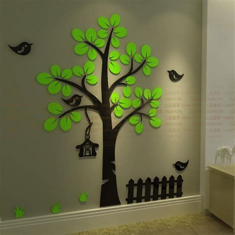 arrival  crystal acrylic wall stickers  kids room