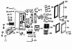 Danby Dff261bsldb Compact Refrigerator Parts