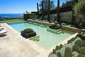 Piscine Avec Cascade : photo piscine avec spa en cascade ~ Premium-room.com Idées de Décoration