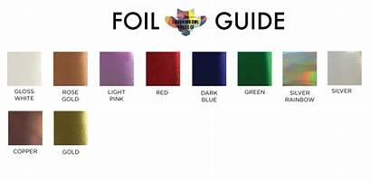 Colors Foil Custom Ink Printing Press