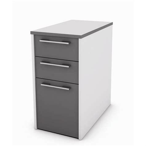 caisson sous bureau caisson de bureau gris