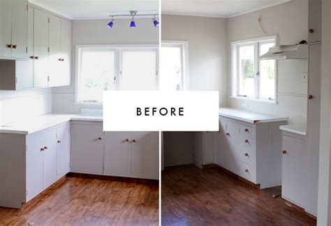 kitchen floor before or after cabinets before after kitchen blackbird 9366