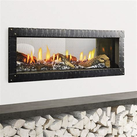 heat glo mezzo gas fireplace  clearance fireplace
