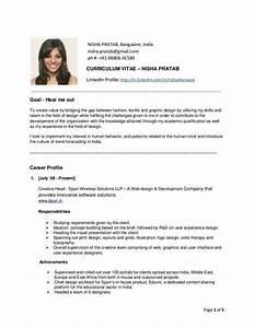 Sample Cv Resume For Cabin Crew