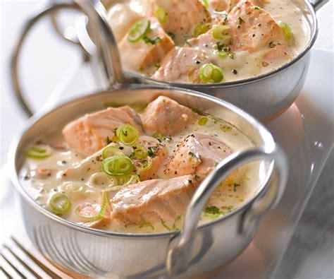 la cuisine des italiens blanquette de saumon recette traditionnelle gourmand
