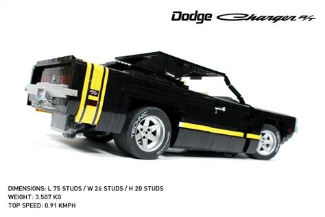 remote control lego  dodge charger rt gadgetsin