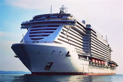 luxury cruise look msc seaside sea trials cruise industry
