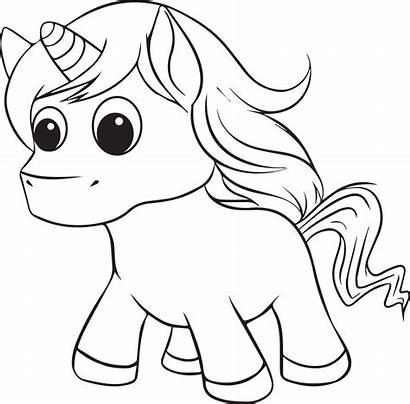 Unicorn Coloring Printable