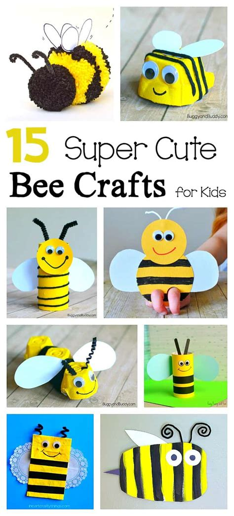 15 bee crafts for buggy and buddy 315 | bee pin