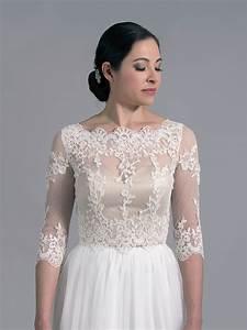 Bridal bolero lace wj022 for Wedding dress bolero jacket