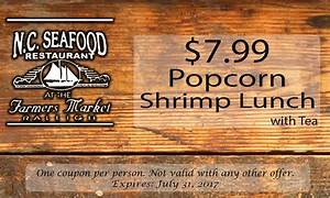 Coupons - NC Seafood Restaurant