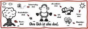 Ohne Dich Ist Alles Doof : sheepworld ohne dich ist alles doof t rposter 158x53 ~ Watch28wear.com Haus und Dekorationen