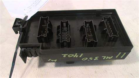 2011 mercedes ml350 fuse box 164type ml class mbiparts used oem mercedes parts disman
