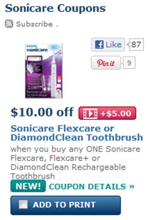 Philips Sonicare Coupons - New Rebates and Coupons Monthy