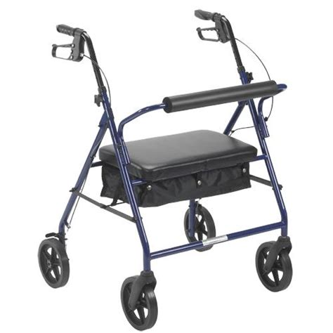 drive bariatric rollator with eight inch wheels bariatric rollators