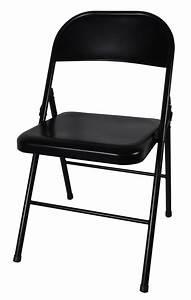 Chaise Pliante Metal Noire Argon M0 Chaise Pliante Et